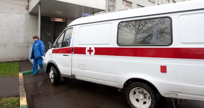 莫斯科,急救车