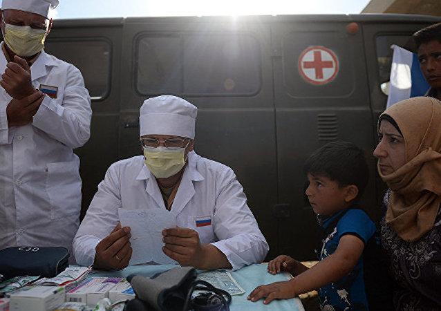 5千多叙利亚人得到俄军医务人员帮助