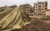 俄野战医院在阿勒颇