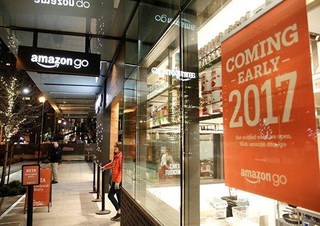 亚马逊将在美开设免排队结账实体店