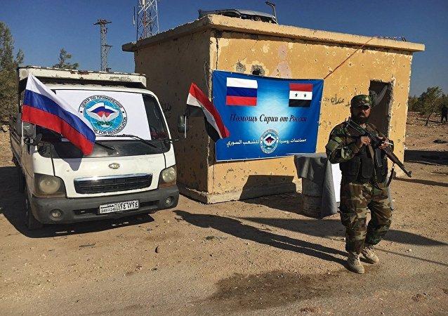 俄国防部:叙利亚已经向大马士革省12万居民提供饮水和食品