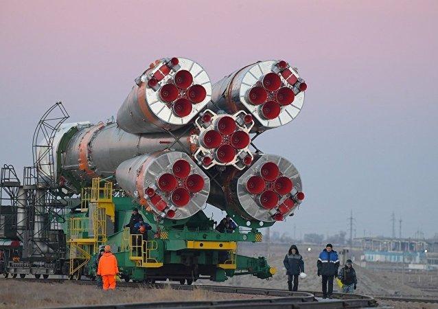 """俄航天集团:2020年前将开发出""""联盟""""运载火箭的新型控制系统"""