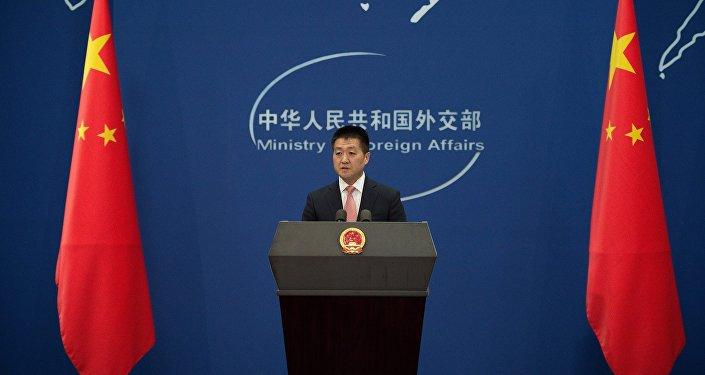 中国外交部发言人陆慷