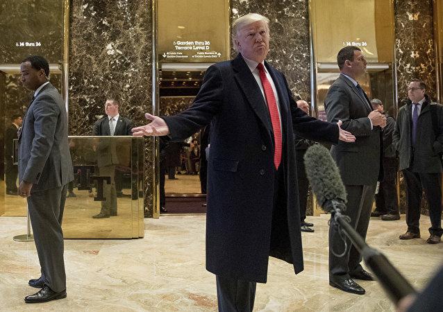 媒体:就职典礼一周内华盛顿特朗普酒店不许记者进入