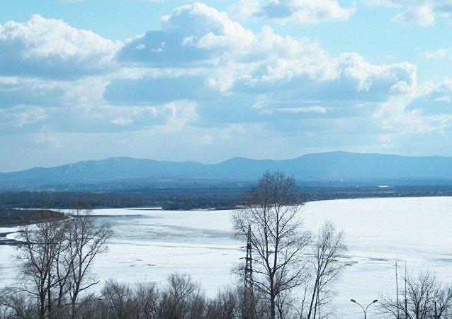 俄中将共同消除大乌苏里岛洪水威胁