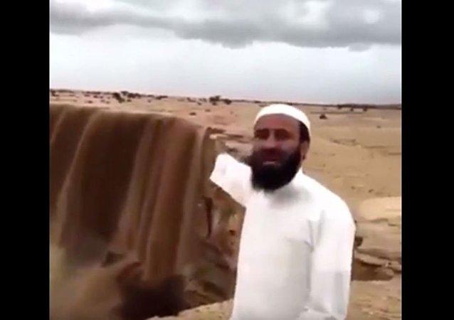 """沙特也有""""尼加拉瓜大瀑布""""!"""