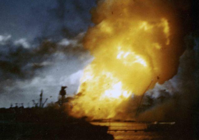 日本袭击珍珠港,1941年12月7日/资料图片/