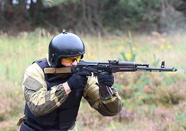 视频:上合组织山地射击部队在中国进行了训练