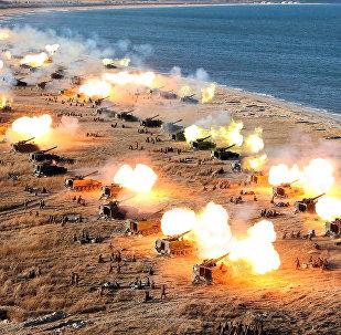 朝鲜军事演习