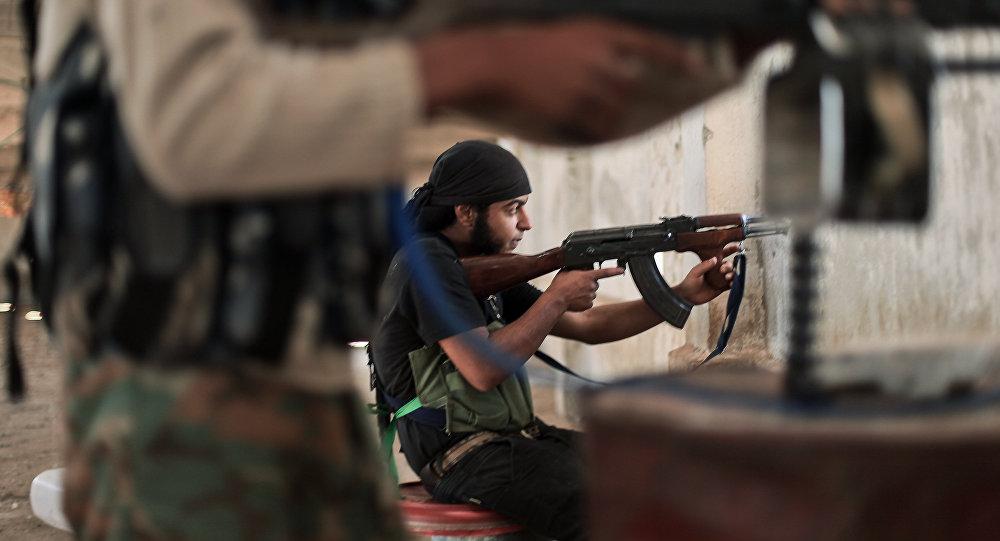 阿勒颇东部武装分子