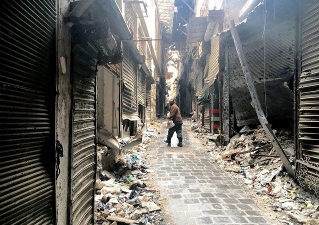 """俄外长称与美国的调解叙利亚问题谈判是""""毫无结果的聚会"""""""