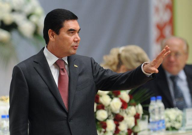 土库曼斯坦总统古尔班古雷•别尔德穆哈梅多夫