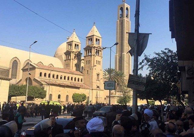 埃及内政部:埃及强力人员消灭7名准备在复活节上发动恐怖袭击的恐怖分子