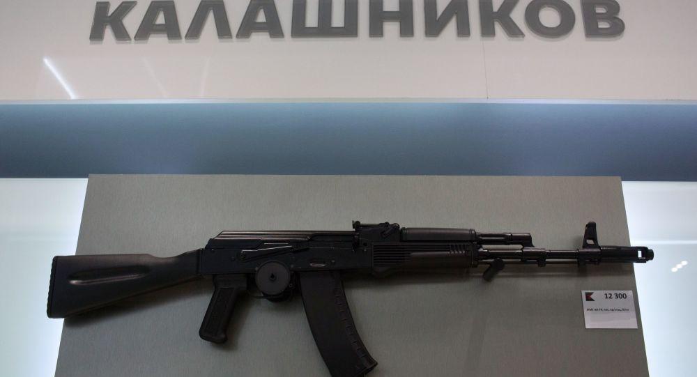 俄印开设生产卡拉什尼科夫自动步枪的工厂