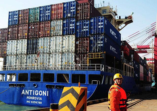 中国海关总署:俄印经济扩张是推动中国外贸进出口增长的因素之一