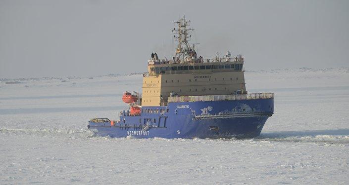 """符拉迪沃斯托克""""号柴电破冰船"""