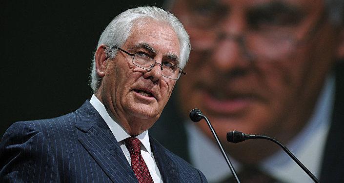 美国国务卿候选人雷克斯·蒂勒森