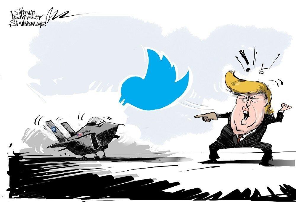 特朗普尖锐批评高价制造F–35歼击机项目
