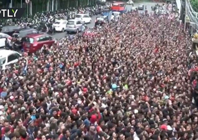 印尼足球迷
