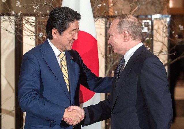 安倍称G20峰会期间将与普京举行会晤