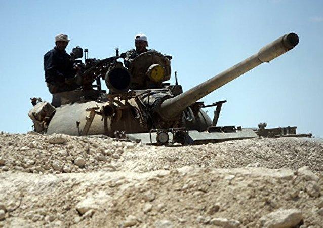 叙政府军夺回巴尔米拉郊区气田的控制权