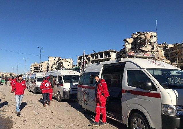 联合国对疏散阿勒颇的行动表示满意