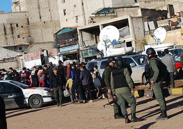 """""""武装分子撤出阿勒颇东部"""