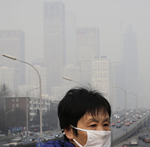 北京市政府因空氣污染將發出橙色預警