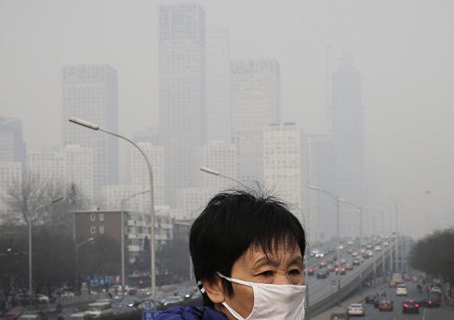 北京市政府因空气污染将发出橙色预警