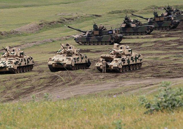 NBC:美国将让坦克重回欧洲 威慑顽固的俄罗斯