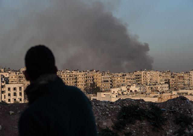 叙当局向禁化武组织代表转交了武装分子使用芥子气的证据