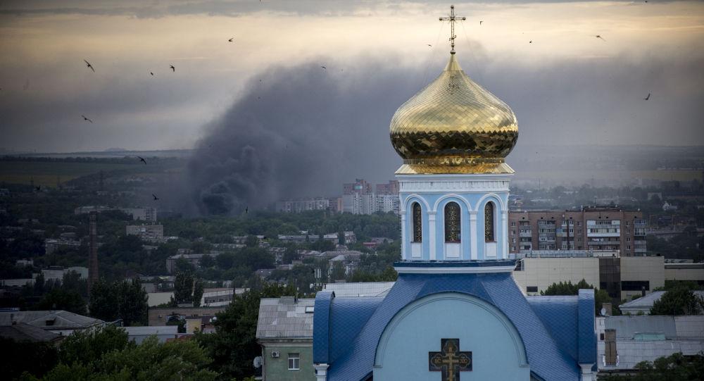 """卢甘斯克人民共和国称基辅复活节期间遵守""""安静制度"""""""