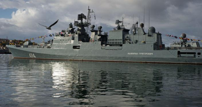 俄海军将于11月接装22350型护卫舰首舰