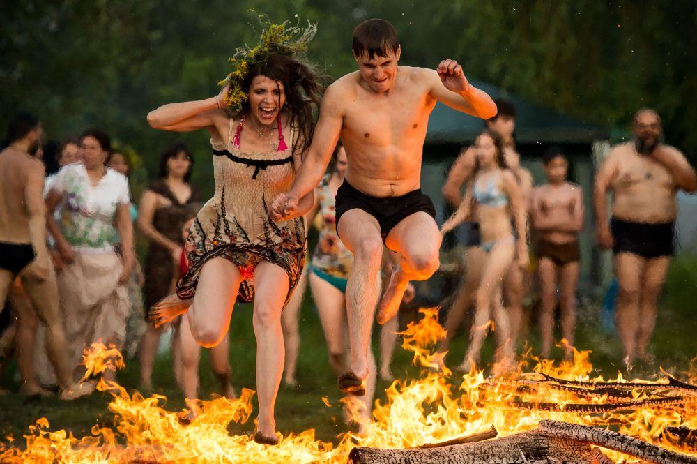 鄂木斯克州庆祝伊万·库帕拉节