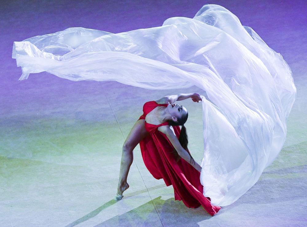 俄罗斯体操运动员玛格丽塔·马蒙