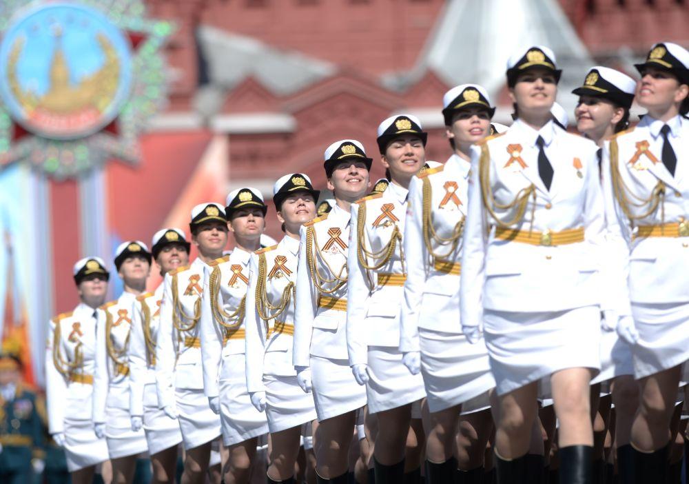 庆祝伟大卫国战争胜利71周年红场阅兵