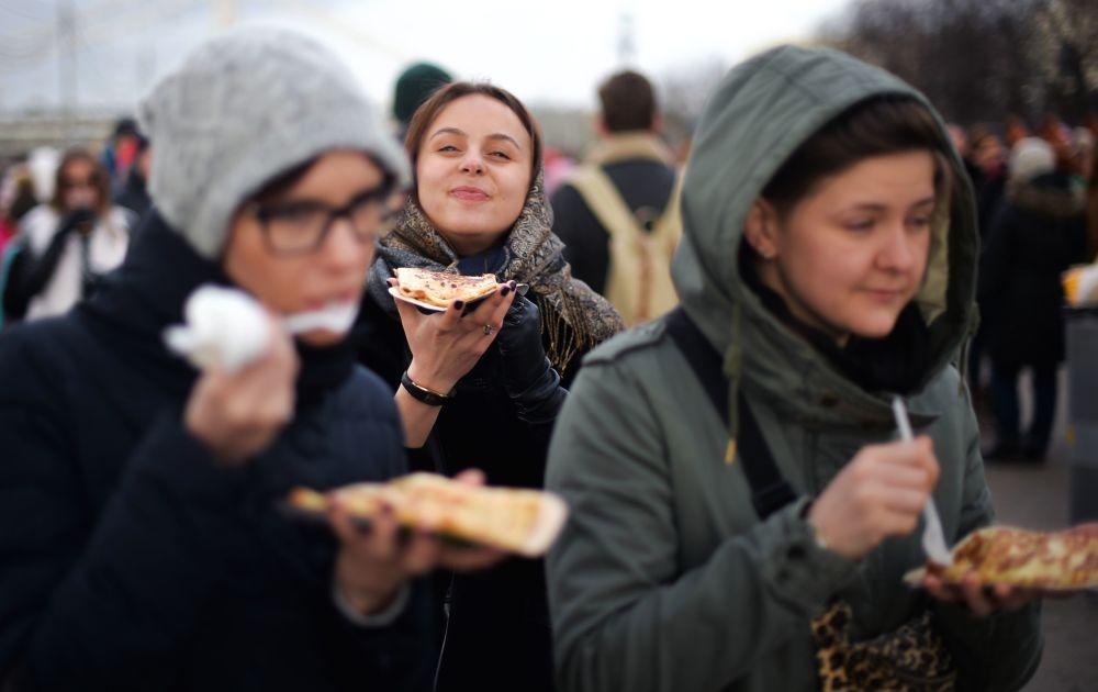莫斯科谢肉节游园会