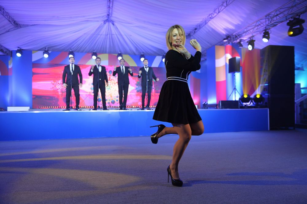 俄罗斯外交部发言人玛丽亚•扎哈罗娃