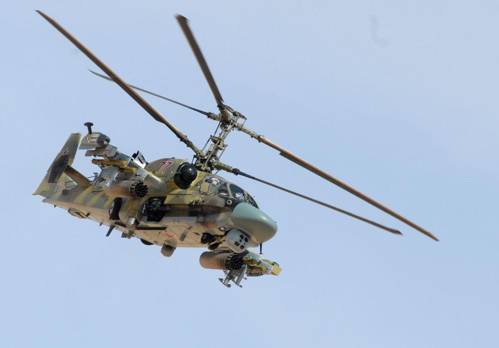 "卡-52""短吻鳄""直升机"