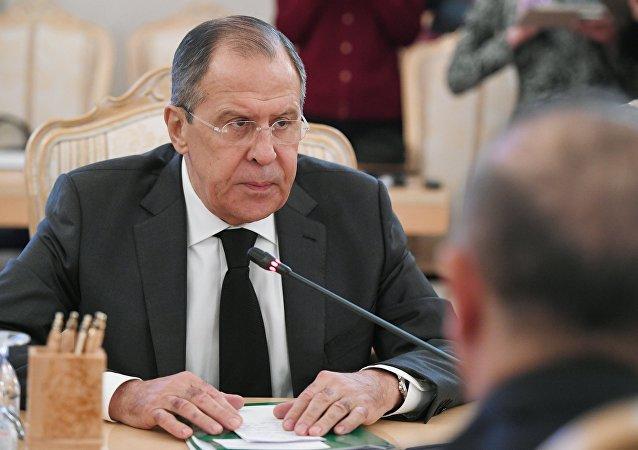俄外长:俄罗斯、伊朗、土耳其声明重申叙利亚主权