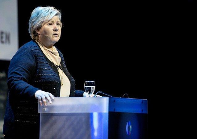 挪威首相欧娜·索尔贝格