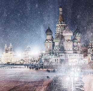 莫斯科紅場上的聖瓦西里大教堂