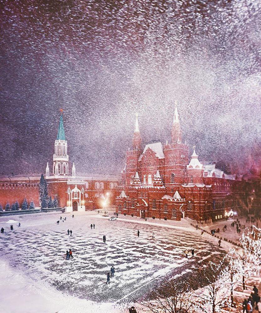 莫斯科红场上的国家历史博物馆