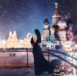 莫斯科红场上的圣瓦西里大教堂