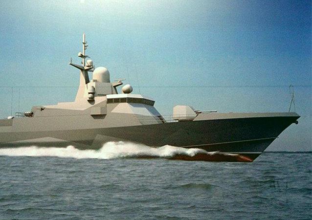 22800型导弹舰的设计图
