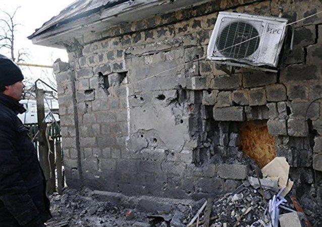 卢甘斯克表示乌方一昼夜12次破坏停火状态