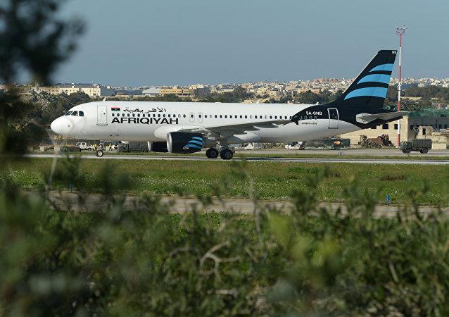 媒体:利比亚飞机的劫机者要求成立卡扎菲拥护者政党