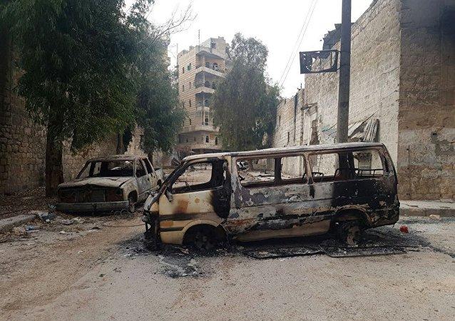 检察员:叙利亚军人在阿勒颇东部一个学校发现被处决的居民