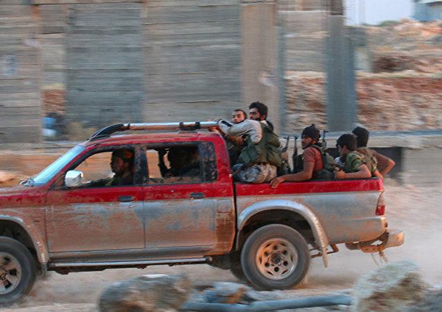 叙利亚武装分子/资料图片/