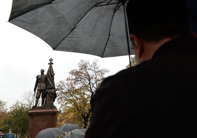 尼古拉二世沙皇雕像 (贝尔格莱德市)